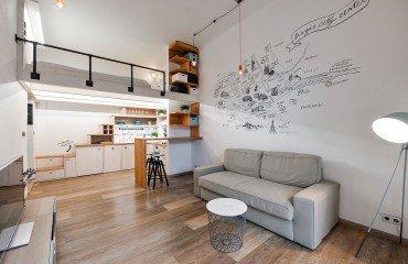 Квартира 1+кк 29м2 с террасой
